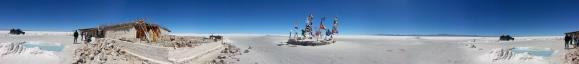 Salt Flats in the Atacama Desert