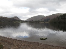 Walking around the lake near Grasmere