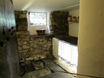 A stream runs under this room, Dove Cottage
