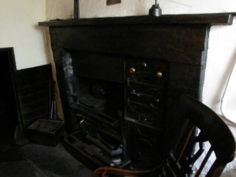 A proper fireplace, Dove Cottage